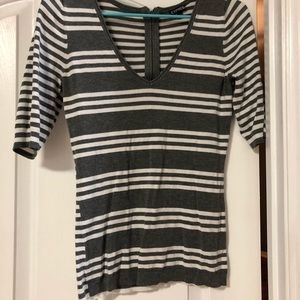 EXPRESS STRIPED BLOUSE